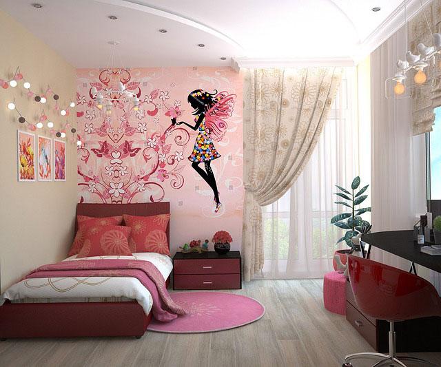 Wystrój pokoju dziecięcego – fototapety na ścianę