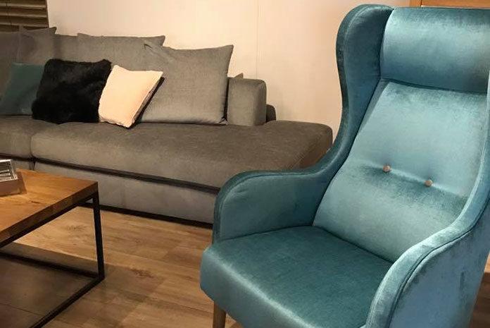 Niebieskie fotele