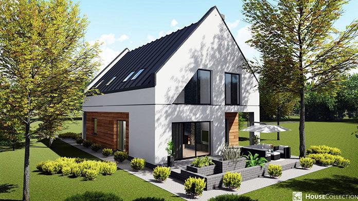 A może dom typu stodoła