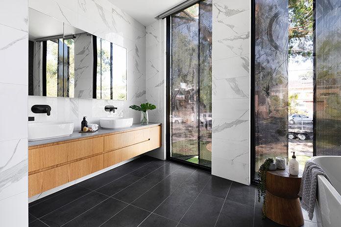 Łazienka w stylu loftowym